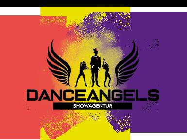 Danceagels Logo 2019 mit Pulverfarben